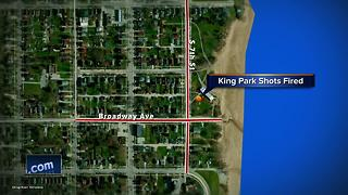 Sheboygan Police respond to reports of gunfire at King Park - Video