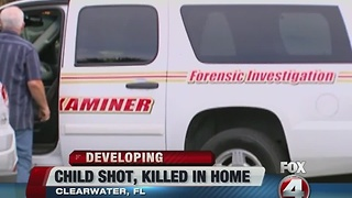 Clearwater child shot and killed - Video