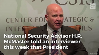 McMaster Goes Public About Plans for North Korea - Video