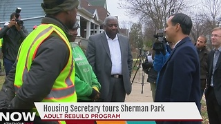 Housing Secretary tours Sherman Park neighborhood