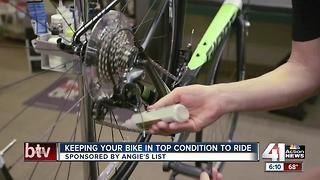 Angie's List: keeping your bike in top condition to ride - Video