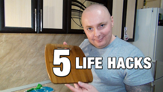 5 simple kitchen hacks you need to know - Video