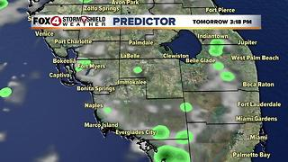 Rain Chances Continue Through the 4th