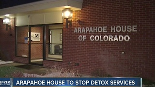 Arapahoe House of Colorado to end detox services - Video