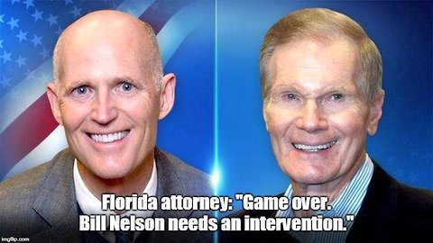 GOP attorney: Bill Nelson needs an intervention. He's done.