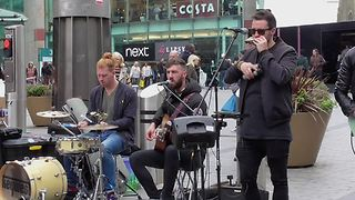 Keywest Apple Tree Hill Birmingham Live Street Performance - Video