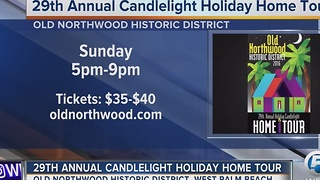 29th annual Old Northwood Holiday Candlelight Home Tour - Video