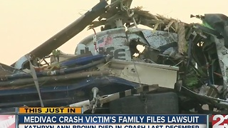 Family files wrongful death lawsuit in medical helicopter crash - Video