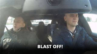 People get more than they bargained for in a Tesla - Video