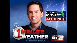 Florida's Most Accurate Forecast with Ivan Cabrera on Saturday, June 10, 2017