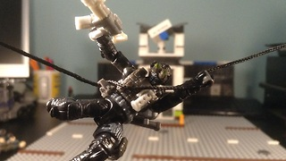 Mega Bloks COD Rappel Fighter from CiiC (Check It, If Collected) Show