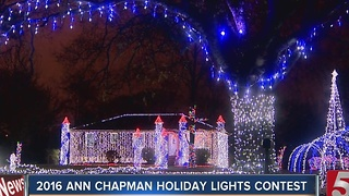 Lawson Home Wins Holiday Lights Contest - Video