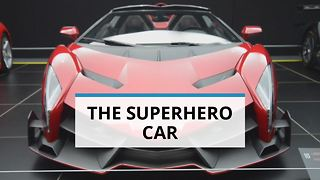 Lamborghini's real-life Batmobile - Video