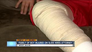 West Allis family prepared to take legal action for exploding slide - Video