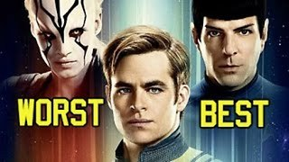 Star Trek Movies Ranked - Worst to Best - Video