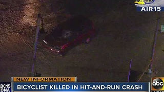 MCSO search for driver involved in a deadly hit and run - Video