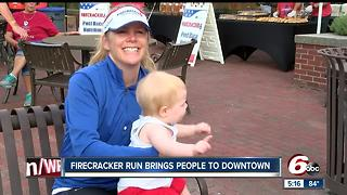 Firecracker Run brings people to downtown - Video