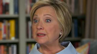Clinton Says NFL Players Have Right To Protest - Video