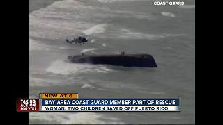 Clearwater Coast Guard rescues family during Hurricane Maria - Video