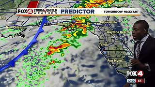 Rain Chances Sunday - Video