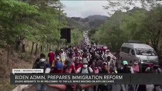 Biden administration prepares to welcome migrants