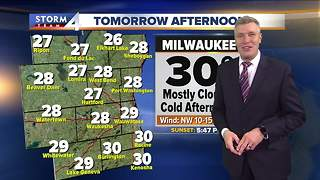 Cloudy and cold Wednesday - Video