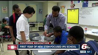 First year of new IPS STEM-focused school - Video