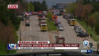 Multiple victims in shooting at STEM School in Colorado, authorities say