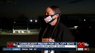 Prayer gathering in Bakersfield for missing Cal City boys