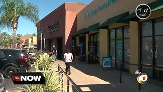 Mission Valley bank robbed - Video