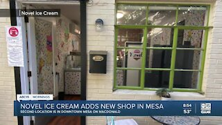 Novel Ice Cream opens second location in downtown Mesa