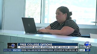 Partnership allows students to get college credit