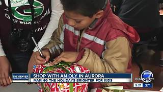 4th Annual 'Shop With Oly' Event - Video