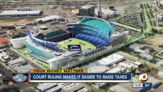 California ruling makes it easier to raise taxes - Video