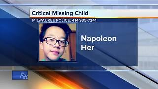 Milwaukee police are looking for missing 12-year-old child - Video
