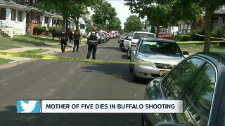Mother of five gunned down in Buffalo - Video