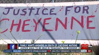 Family wants justice for Cheyenne Watkins