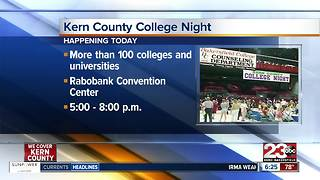 Kern County College Night - Video
