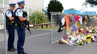 New Zealand Shooting Suspect Makes First Court Appearance - Video