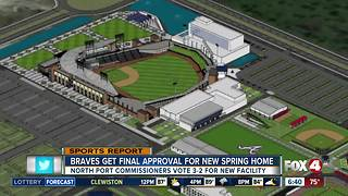 It's official: Atlanta Braves moving to North Port - Video