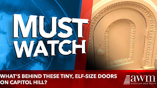 What's Behind These Tiny, Elf-Size Doors on Capitol Hill? - Video