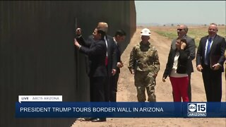 President Trump, Governor Ducey sign Arizona border wall