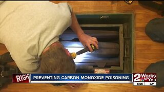Preventing CO poisoning