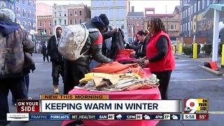 'Stitched With Love' donates warm clothes to homeless - Video