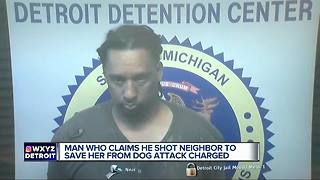 Man charged with accidentally killing neighbor during dog 'attack,' victim had no dog bites - Video