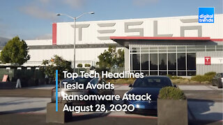 Top Tech Headlines | 8.28.20 | Telsa Avoids Massive Ransomware Attack