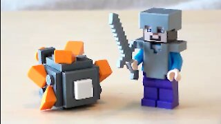 Lego Minecraft Guardian Tutorial