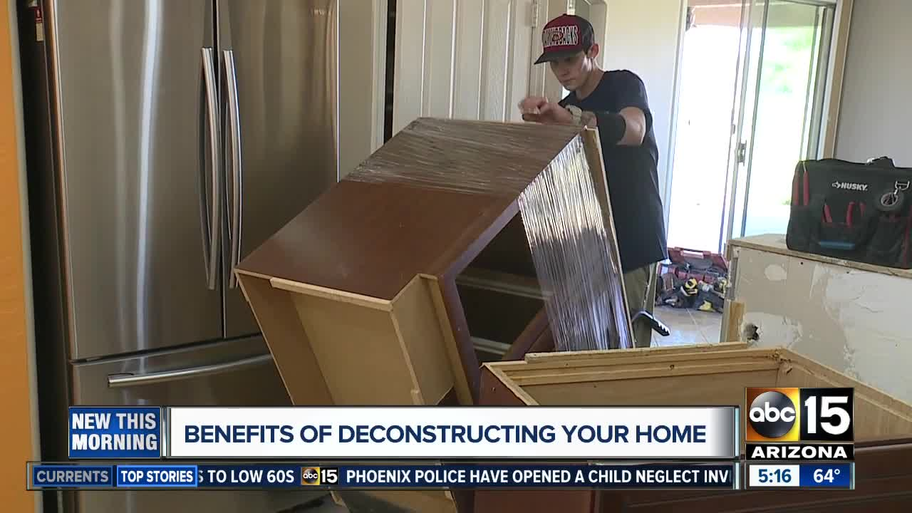 Benefits of deconstructing your home