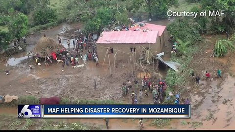 Mission Aviation Fellowship helping disaster recovery in Mozambique