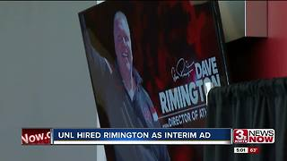 Former Husker Dave Rimington named interim Athletic Director - Video